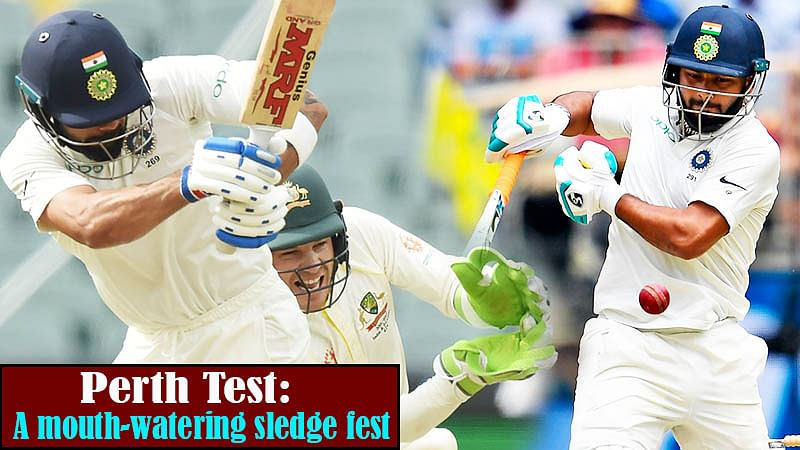Perth Test: A Mouth-Watering Sledge Fest