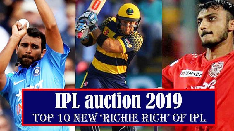 IPL Auction 2019 | Top 10 New 'Richie Rich' Of Indian Premier League