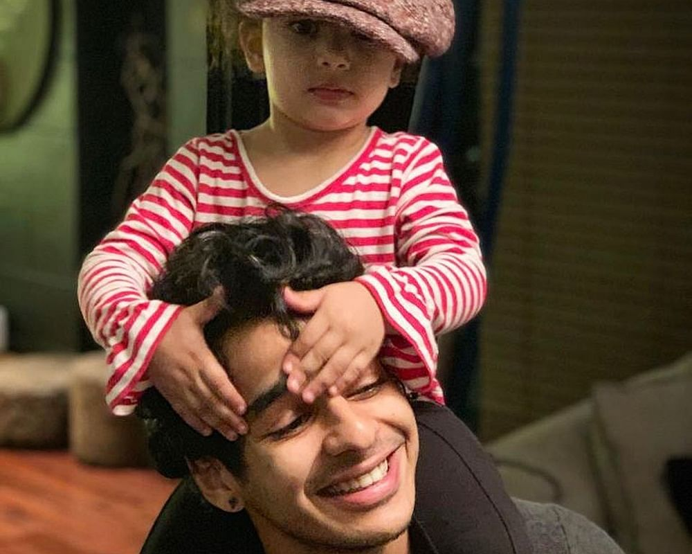 Ishaan Khatter's latest picture with niece Misha Kapoor is too cute to handle!