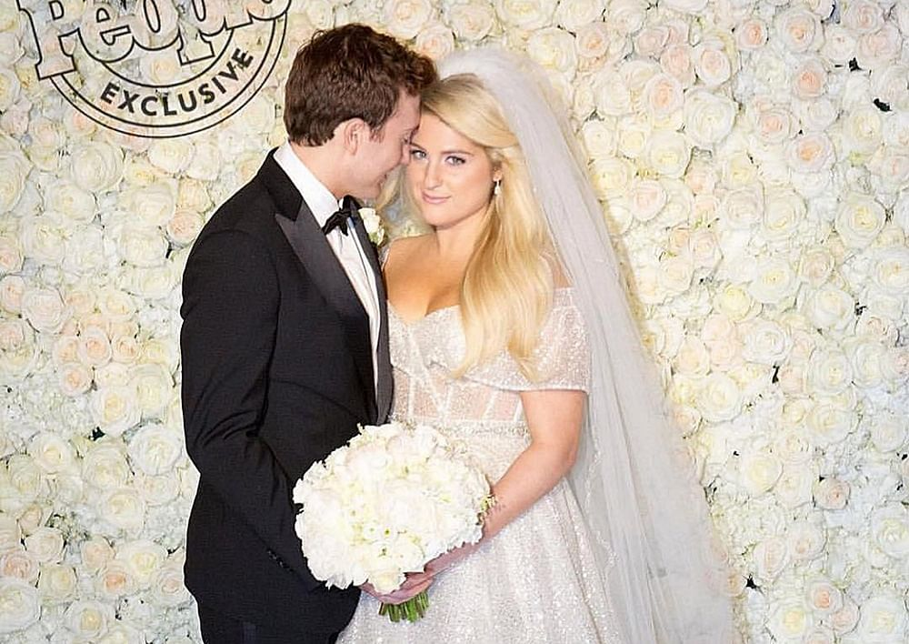'All About That Bass' singer Meghan Trainor marries 'Spy Kids' actor Daryl Sabara