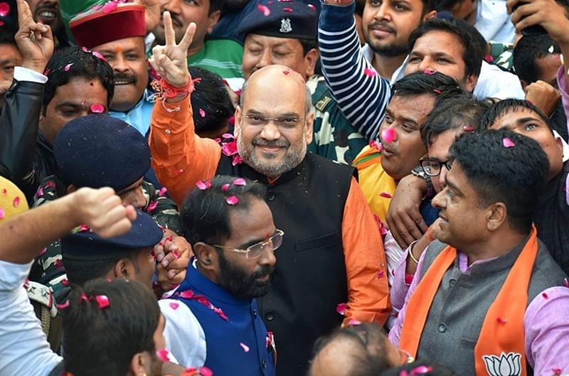 Bhopal: Politics over Vande Matram intensifies, Shah targets Rahul