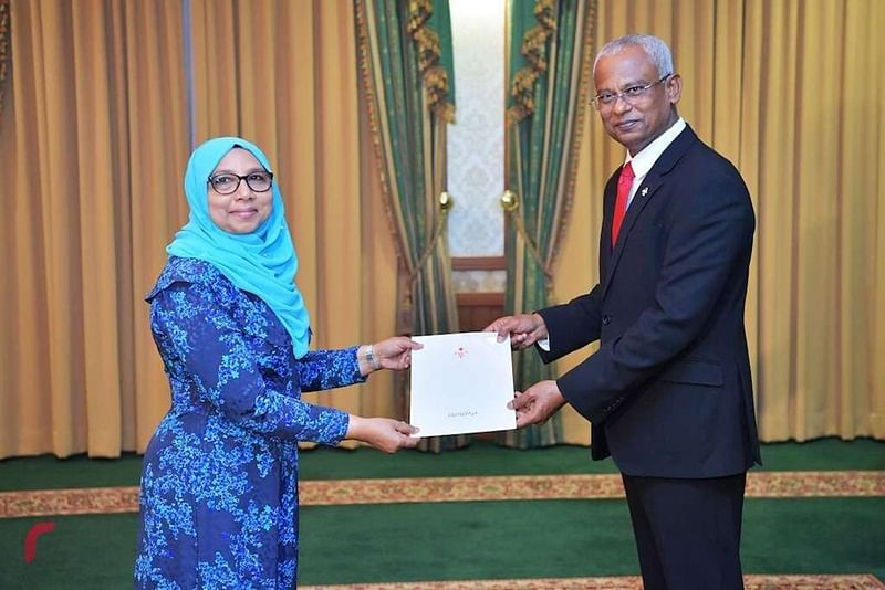 Maldives appoints Aishath Mohamed Didi as new Ambassador to India