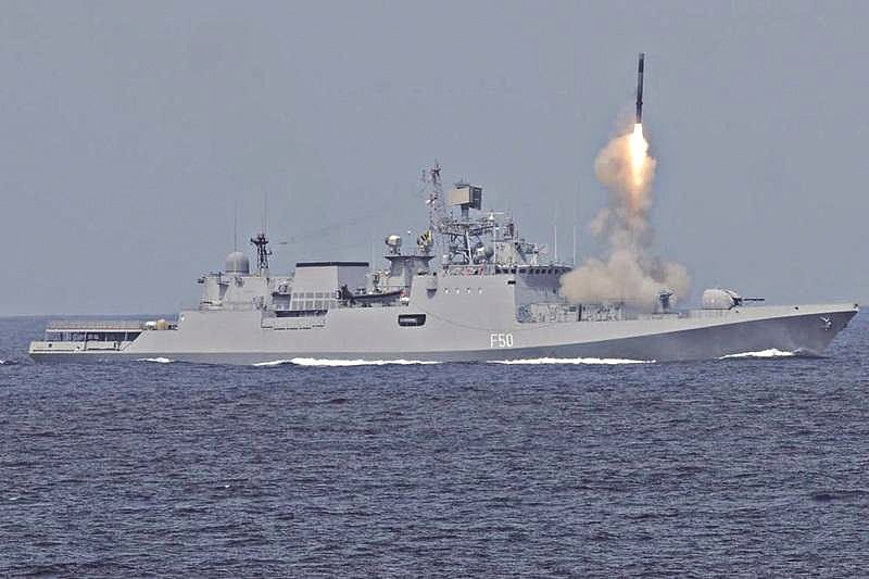 Navy Day 2018: World's fastest cruise missile BRAHMOS leads the race