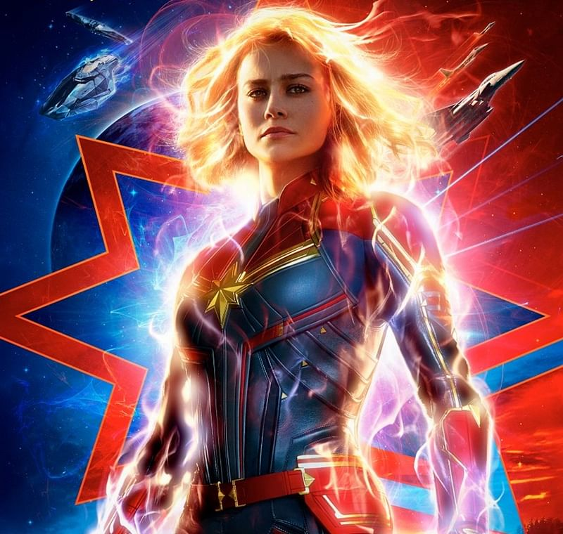 Marvel Studios releases new poster of 'Captain Marvel'