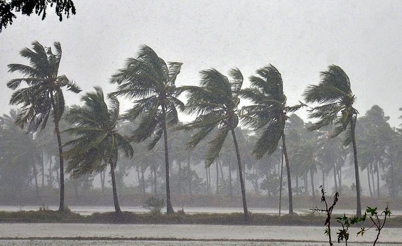 Odisha govt evacuates 11,600 people as Cyclone Phethai makes landfall in neighbouring Andhra Pradesh