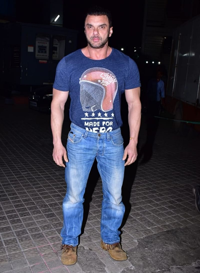 Sohail Khan at Kedarnath special screening in Mumbai. /Photo by Viral Bhayani