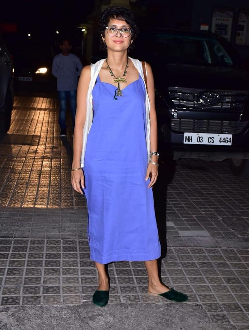 Kiran Rao at Kedarnath special screening in Mumbai. /Photo by Viral Bhayani