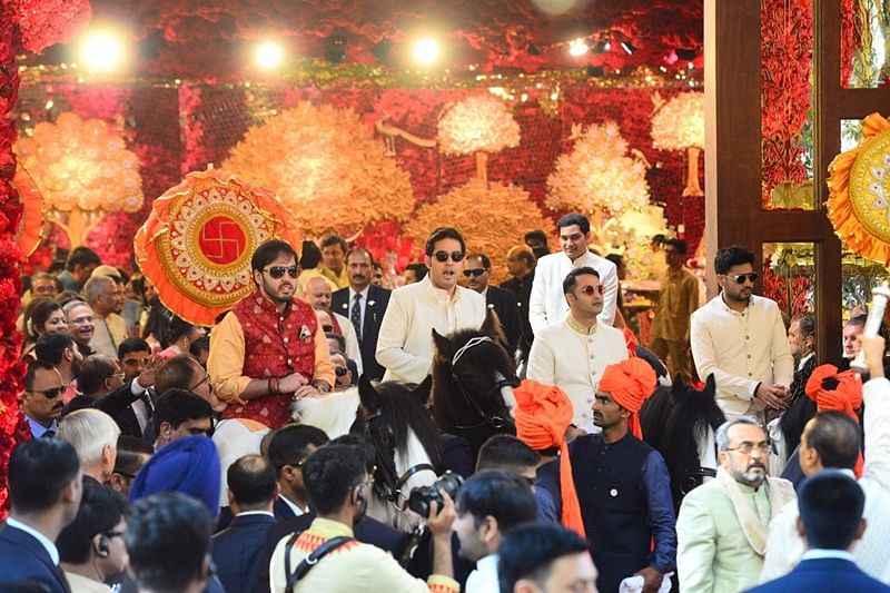 Swagat Che! Isha Ambani's wedding kick starts with an extravagant entourage at Antilia; see pics