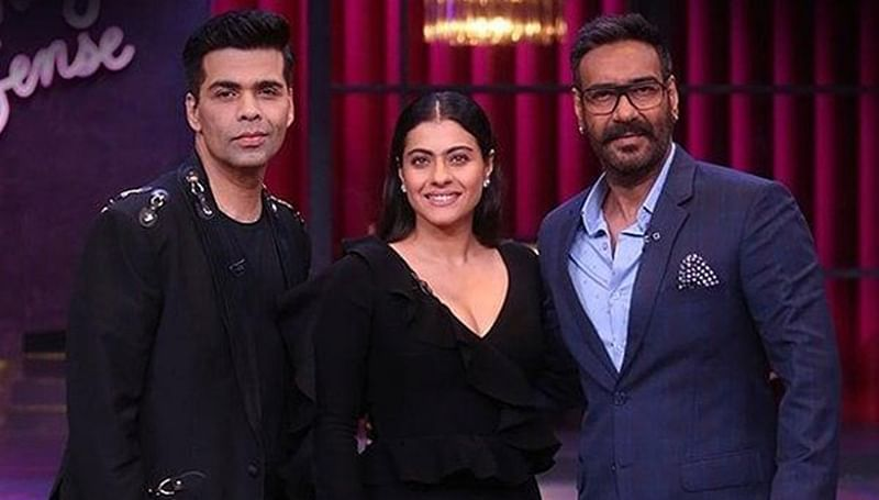 Koffee With Karan 6: Ajay Devgn calls it truce with Karan Johar and spills beans on his wife Kajol; watch here