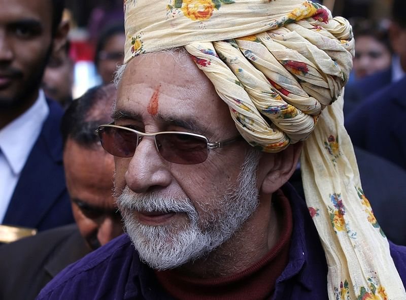 Indian Bollywood actor Naseeruddin Shah/ AFP Photo