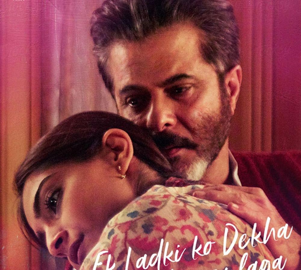 'Ek Ladki Ko Dekha Toh Aisa Laga' First Poster: Anil, Sonam beautifully depict the father – daughter bond