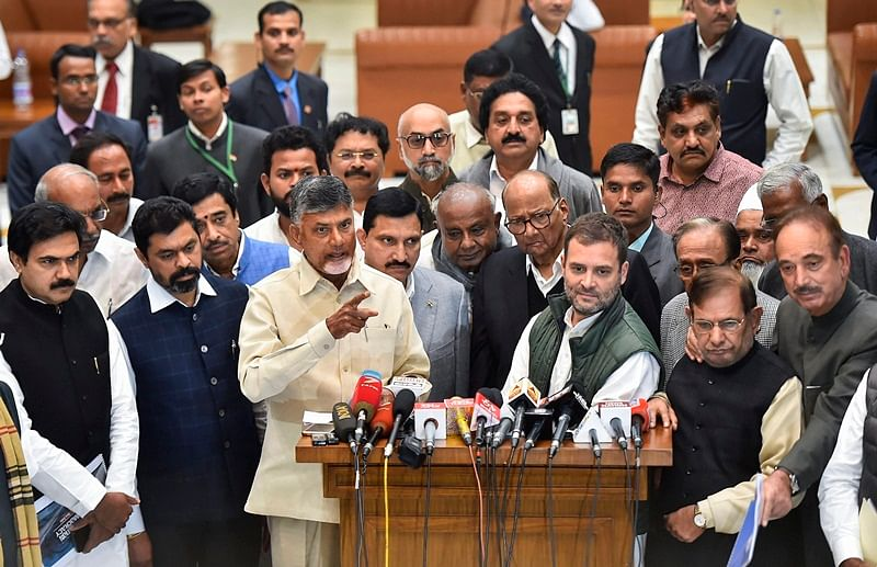 SP, BSP stay away from anti-BJP bloc; Arvind Kejriwal joins Opposition parties meeting