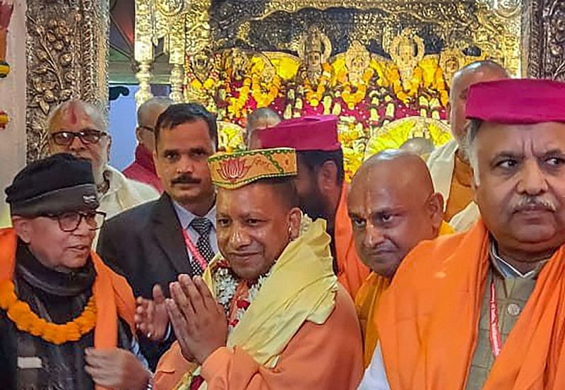 Yogi is now BJP's star campaigner, second only to Modi