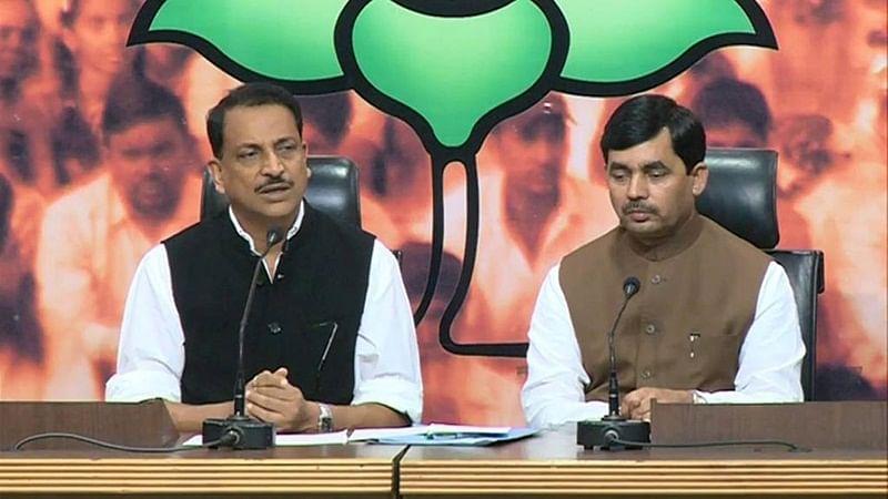 Rajiv Pratap Rudy appointed as national spokesperson of BJP