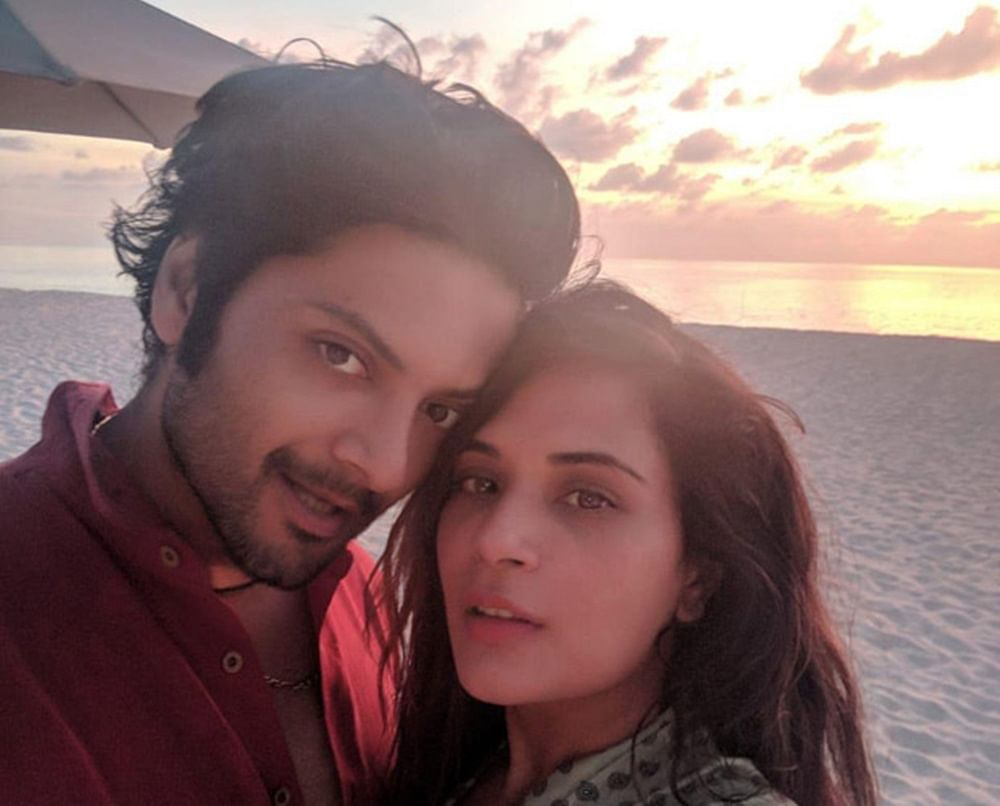 In Pictures! Richa Chadha gets an exotic birthday surprise from beau Ali Fazal