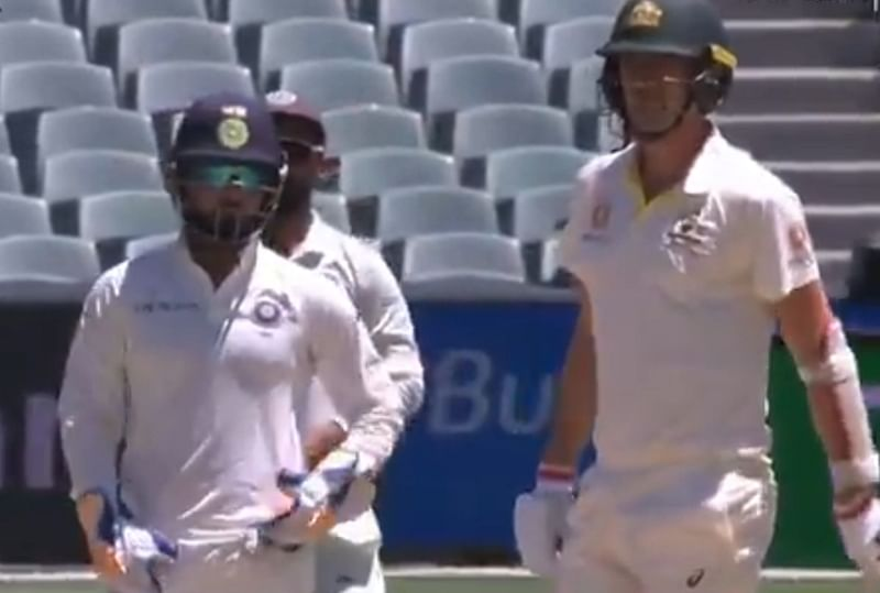 Watch: Pant sledges Pat Cummins in Adelaide, takes over commentary from behind the stumps