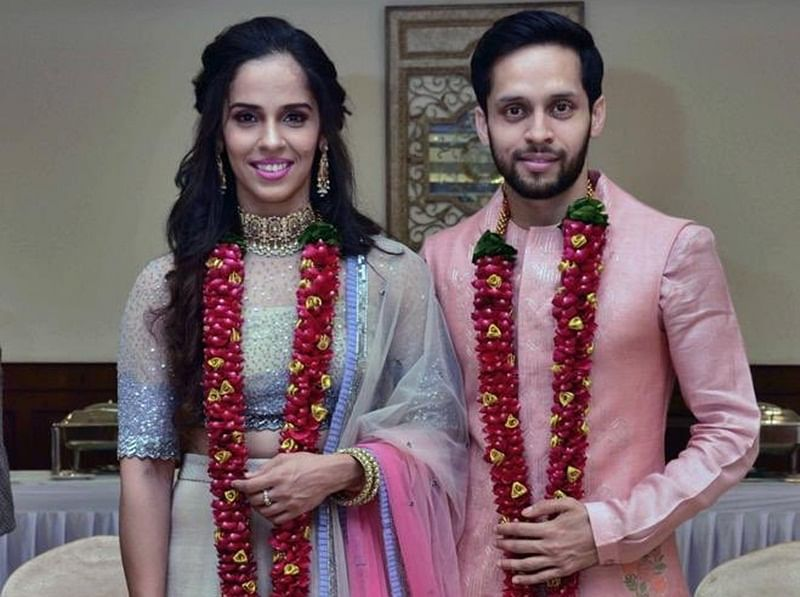 Best match! Saina Nehwal ties the knot with Parupalli Kashyap, shares picture on twitter