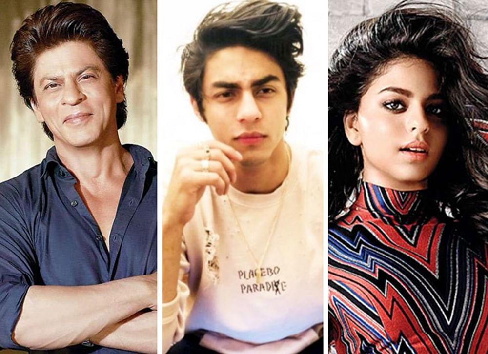 Shah Rukh REVEALS the exact time of his children Aryan and Suhana Khan joining film Industry