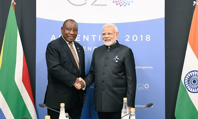 India's enhanced engagement with African continent