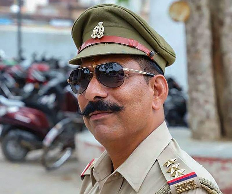 In picture: Police Inspector Subodh Kumar Singh. (PTI Photo)