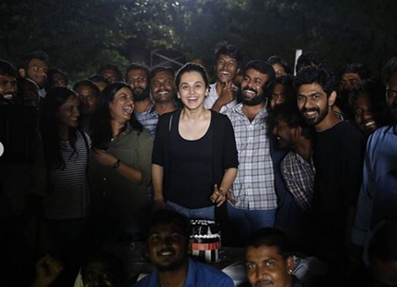 Taapsee Pannu wraps up shooting for Tamil-Telugu film 'Game Over'