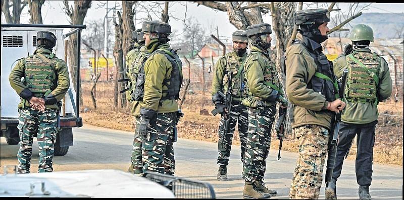 6 terrorists gunned down in Pulwama