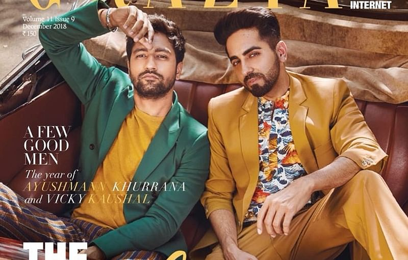 Vicky Kaushal poses with his 'Dream Girl' on new magazine cover