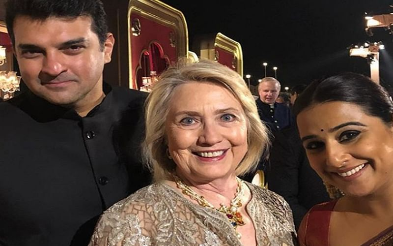 Vidya Balan's 'precious moment' with Hillary Clinton is unmissable; check out