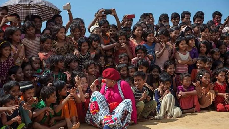 Clowns Without Borders: Bringing smiles on the faces of people facing extreme hardships