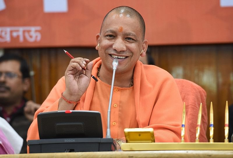 Yogi Adityanath not given permission to land by TMC