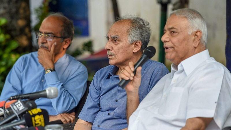 CBI must file FIR in Rafale case: Bhushan, Shourie, Yashwant Sinha