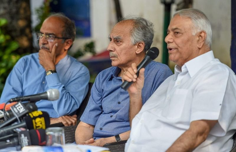 Yashwant Sinha, Arun Shourie move Supreme Court for review of Rafale judgment