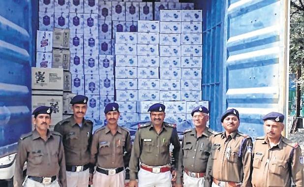 Indore: Illegal liquor worth Rs 1.45 cr seized