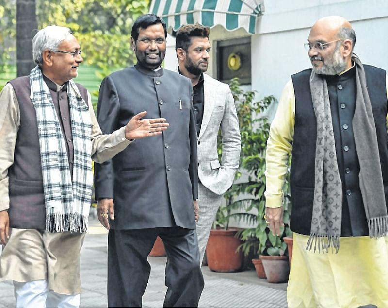 BJP yields 5 seats to Nitish Kumar