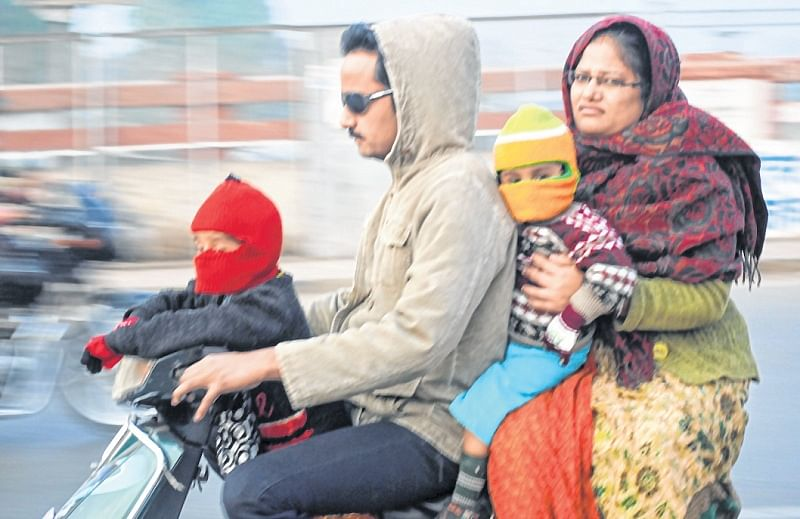 Indore: Rise in day temperature offers some relief to citizens
