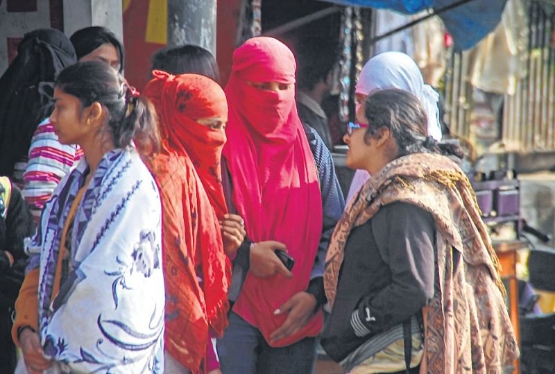 Chilly winds blow over Delhi-NCR