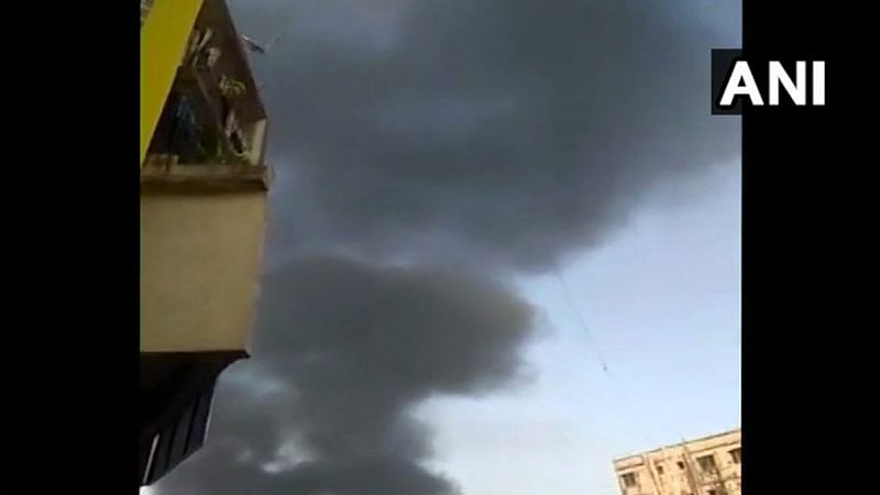 Maharashtra: Fire breaks out in godown in Bhiwandi's Rajlaxmi Complex
