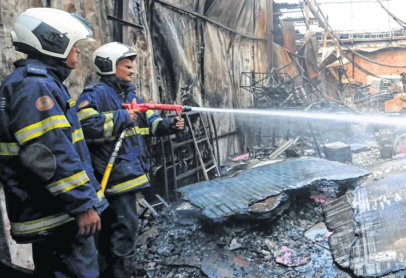 Mumbai: Garment factory gutted