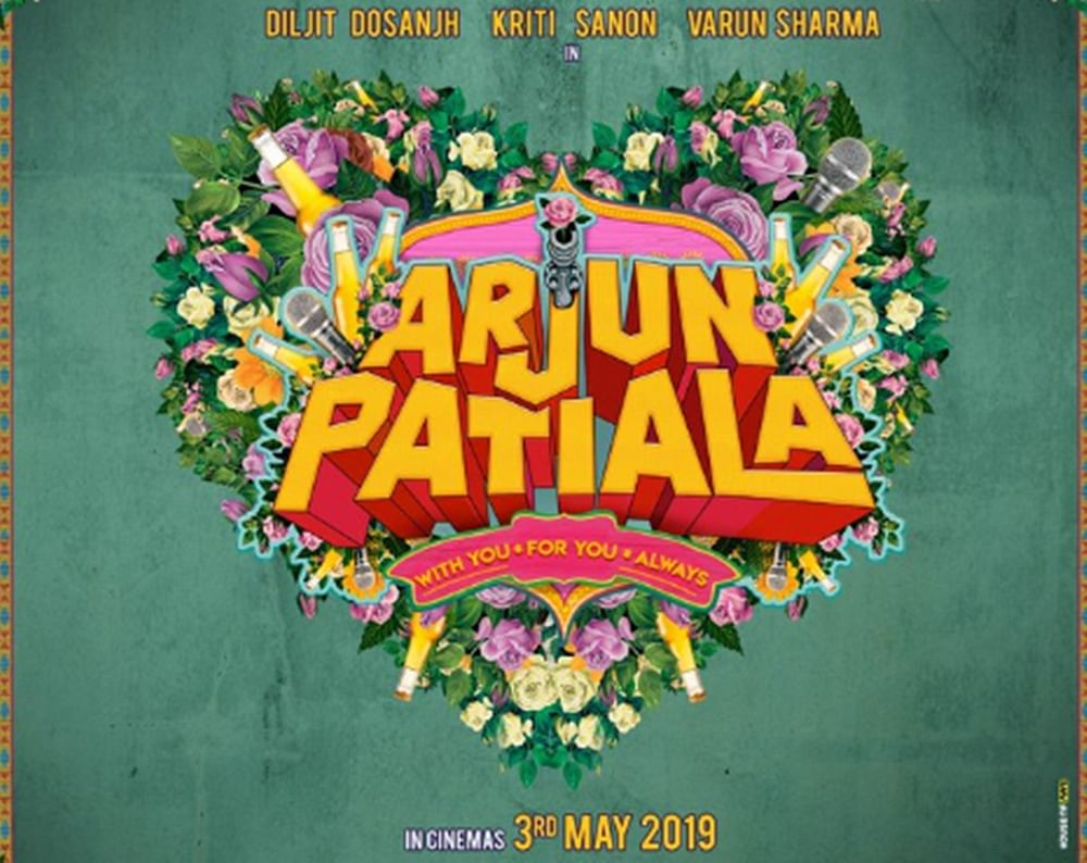 'Arjun Patiala' Poster: Kriti Sanon and Diljit Diljit Dosanjh starrer to release in May 2019