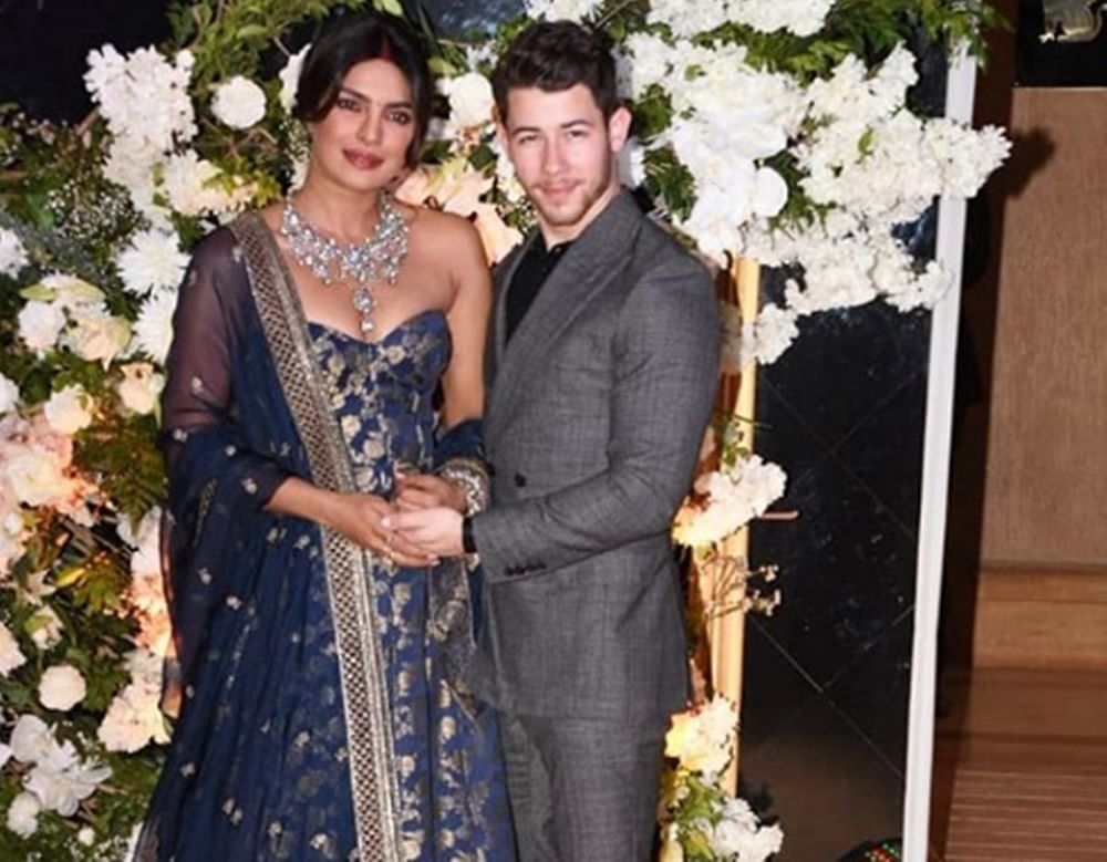 Priyanka Chopra-Nick Jonas throw a gala reception in Mumbai; see pics and videos