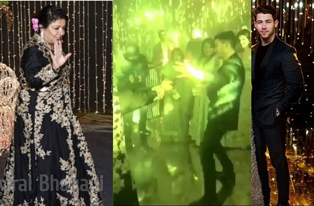 Nick Jonas wins Son-in-law of the year as he dances with Madhu Chopra on 'London Thumakda'