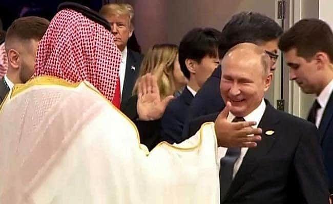 Vladimir Putin-Mohammed bin Salman handshake, Net goes wild