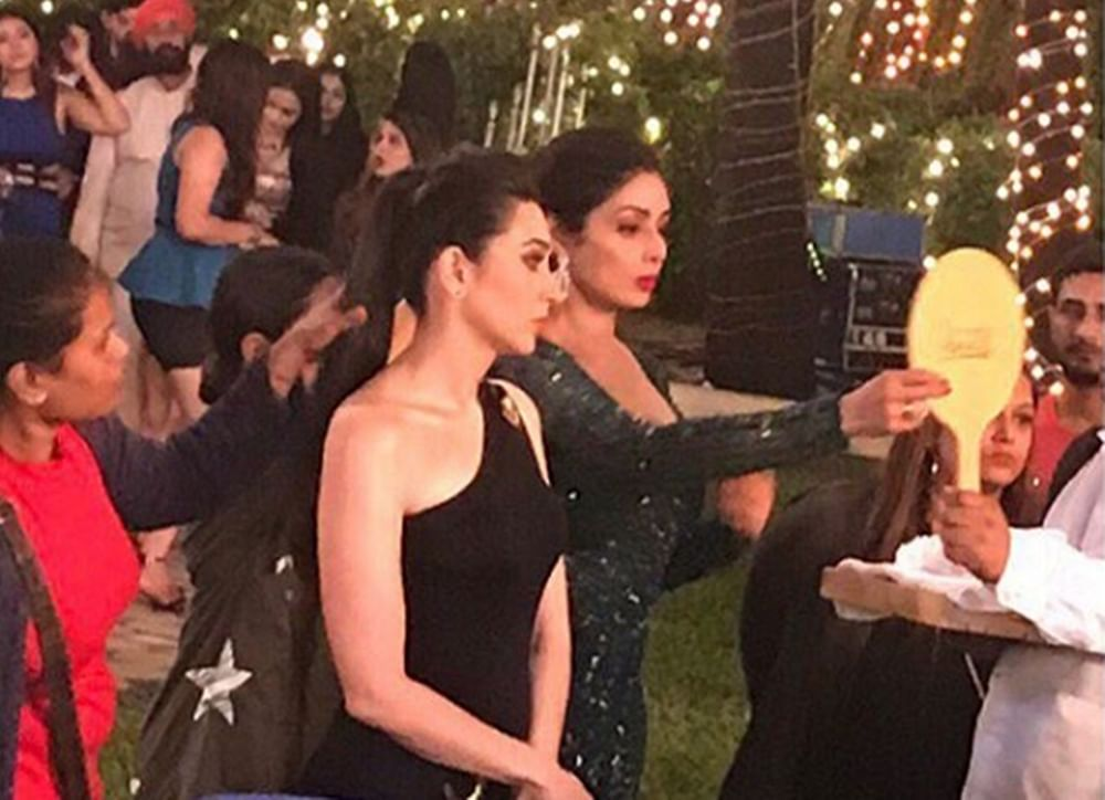 Zero: Karisma Kapoor shares special BTS pic with Sridevi