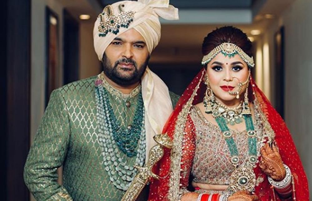 Kapil Sharma and Ginni Chatrath are now married