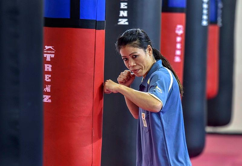 Boxing is not Abhinav Bindra's business, says Mary Kom