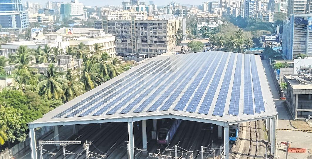 Mumbai Metro One's solar capacity stands at 3 MWp