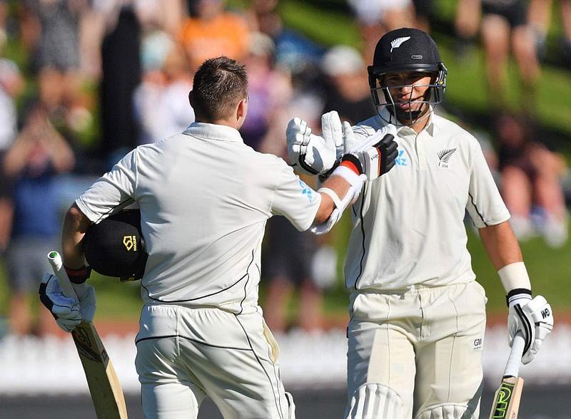 New Zealand steady their innings