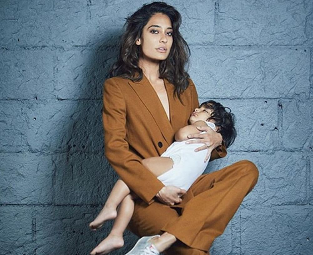 Having a kid opened my eyes to a whole new world: Lisa Haydon on son Zack