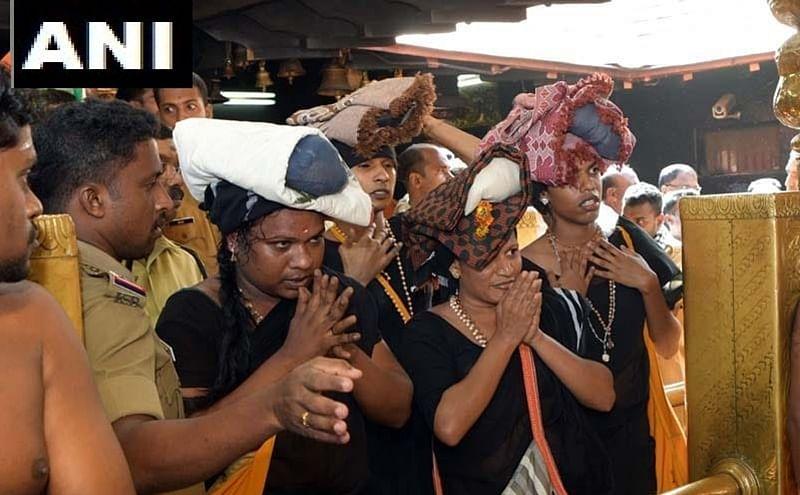 Sabarimala row: 4 transgenders offer prayers at Lord Ayyappa shrine