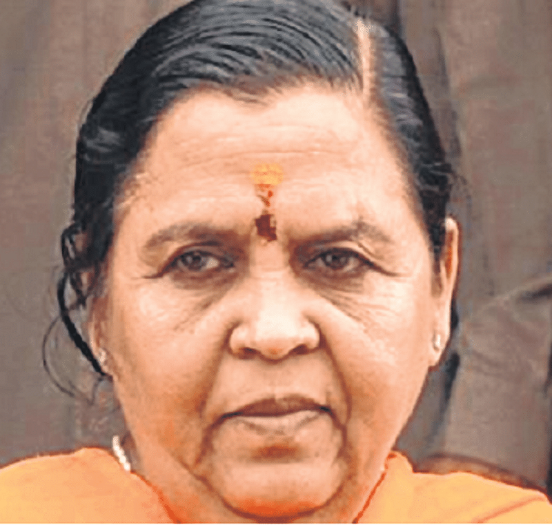 Shocking if Ram Mandir isn't built with Yogi Adityanath, Narendra Modi in power: Uma Bharati